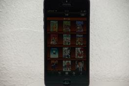 スマートフォンで簡単に電子本棚が作れます!