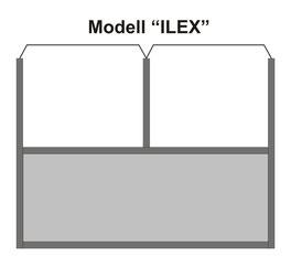 Windschutzwand Modell Xterior
