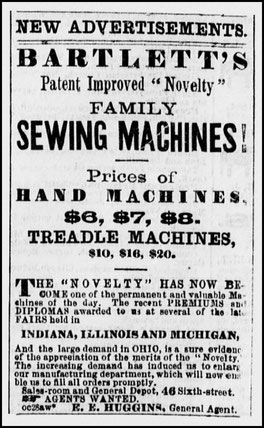 October 1859 Advertisement