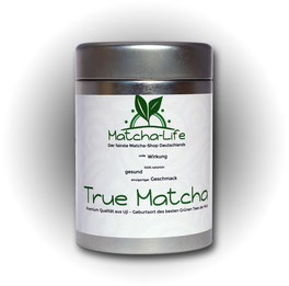 Bild: True Matcha 100g Matcha Tee aus Uji beste Qualität