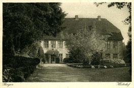 Stiftsgebäude um 1920, heute Stadtmuseum