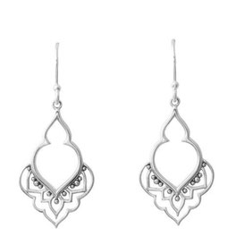 925 sterling zilver eastern temple earring