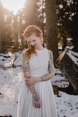 natürliche Brautkleider aus Baumwolle - bio, fairtrade & nachhaltig