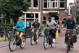 cycle tour in Amsterdam