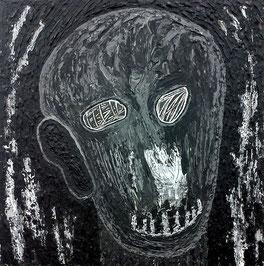 Im ständigen Wandel 4: Acryl auf Leinwand, 50 x 50 cm, 2019/2020