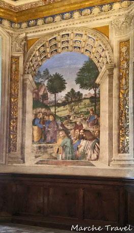 Loreto, Affreschi sacrestia San Marco, Melozzo da Forlì