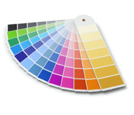 kleurenwaaier