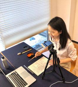 online japanese calligraphy shodo lesson 書道 オンライン