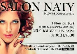 Salon de coiffure naty  Balaruc les bains