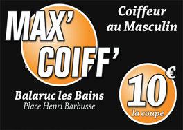 Max coiff coiffeur  Balaruc les bains