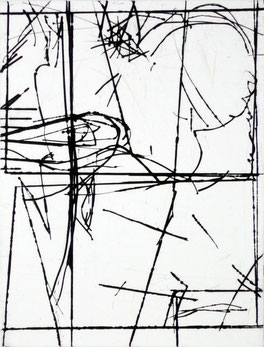 Heiner Blumenthal l etching l edition 2011 Ka 91 l 36 x 47 cm