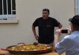 Paella in Vienne mit den Bogenschützen