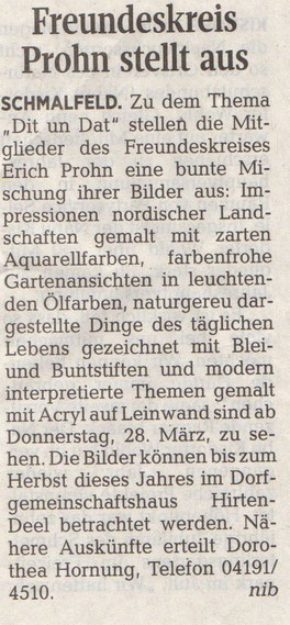Segeberger Zeitung 26.03.2019