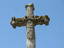 la croix du cimetière saint marcel de Félines