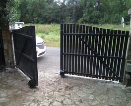 motorisation de portail à roues AKIA