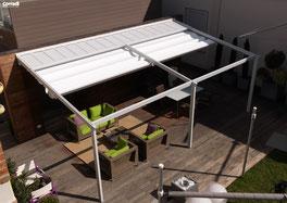 Terrassenfaltdächer - schattenbau