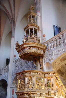 Kirche Pernegg - Renaissancekanzel (1618) Foto: Sonja Rimmel