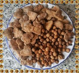Honig - Joghurt Kekse für Hunde in BIO Qualität und selbstgemacht