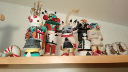 Kachinas, made by Francis Huxley