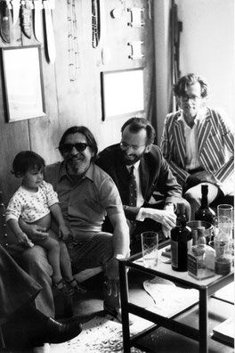 1972: Orlando Villas Boas (in his home, Sao Paulo) E. Brooks and Francis