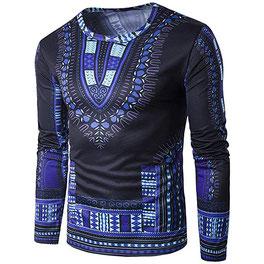 TPulling Hommes T-Shirt Manches Longues Blouse Hommesautomne Hiver 5876  Prix : 12012,7 FCFA