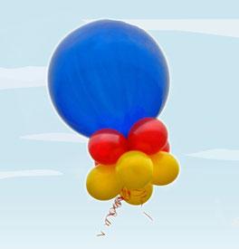 Riesenballon Luftballon Ballon Neueröffnung Jubiläum Firmenevent Heliumballon Event Firma
