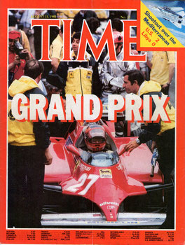 Gilles Villeneuve en TIME