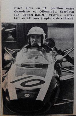 Ludovico Scarfiotti en L'Automobile