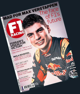 Max Verstappen en F1 RACING