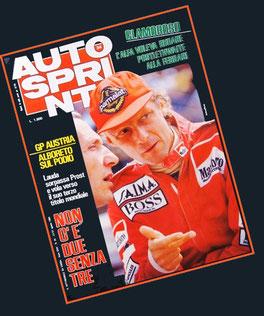 Niki Lauda en Autosprint