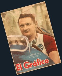 """Alfredo Pian en """"El Grafico"""""""