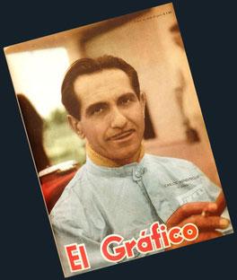 Carlos Menditeguy en El Gráfico