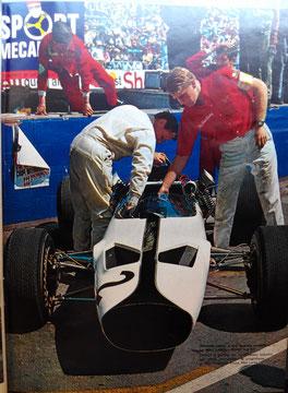 Debut de la escudería McLaren en L'Automobile