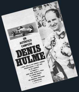 Denis Hulme un auténtico campeón