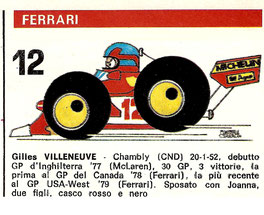 Gilles Villeneuve en Autosprint según Muneta & Cerracín