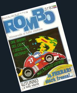 Patrick Tambay by Muneta & Cerracín en el settimanale a tutto motore ROMBO
