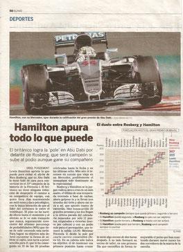 Lewis Hamilton apura todo lo que puede.