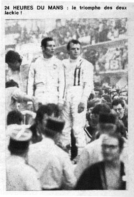 Jackie & Jacky en Le Mans 1969