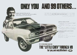 El Chevy de Basil van Rooyen