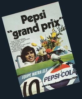 Pepsi & François Cevert