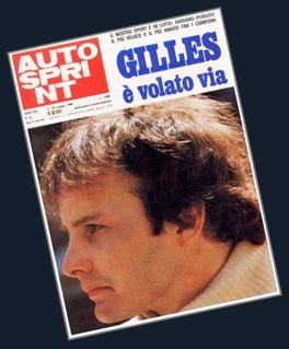 Gilles Villeneuve en Autosprint