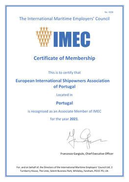 The International Maritime Employers' Council
