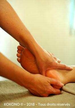 Kokono massage pieds ille et vilaine
