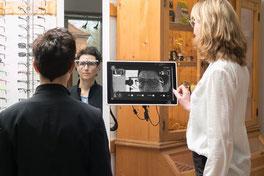Videozentrierung bei Ihrem Optiker in Hamburg Sasel