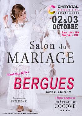 Salon du Mariage de Bergues 2 et 3 Octobre 2021