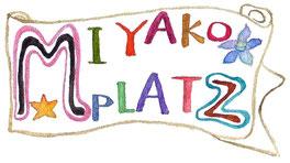 「MIYAKO PLATZ」タイトルロゴ