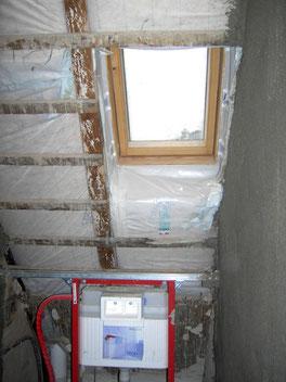 Dachfenster Bestand eingebaut