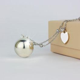 Bracciale Brilliant Angelo Dei Desideri® in argento 925 impreziosito da scintillanti pietre pavé  idee regalo Comunione