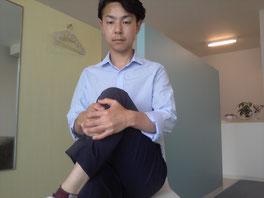 奈良県大和高田市の腰椎ヘルニアの男性