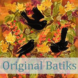 original batik art artwork